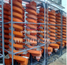 High Efficiency iron ore Separating Machines Spiral Chute / sprial gravity separator