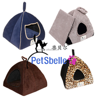 Lovely kitty & puppy house dog and cat bed