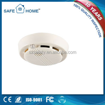 9V Battery stand alone Smoke Alarm Detector Wireless Connected SFL-168