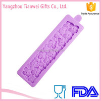 Food Grade Flowers Silicone Jelly Cake Moulds