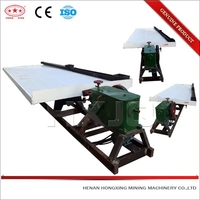 Top new gold separating machine mining shake table