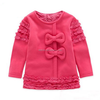 USA Ruffles Children Clothing 100% Cotton Girls Outfits Child Soft Cotton Clothes