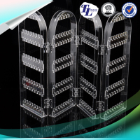 New Style Factory Direct wall pocket jewelry makeup storage hanging organizer