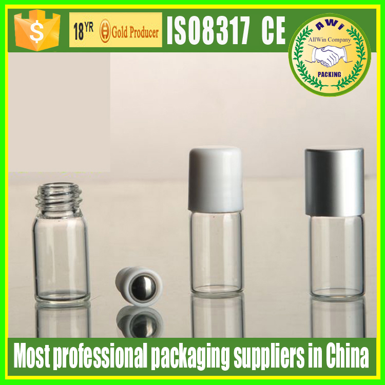 5ml hot sell glass roll on bottle essential oil packaging supplier luxury perfume glass roll on bottles