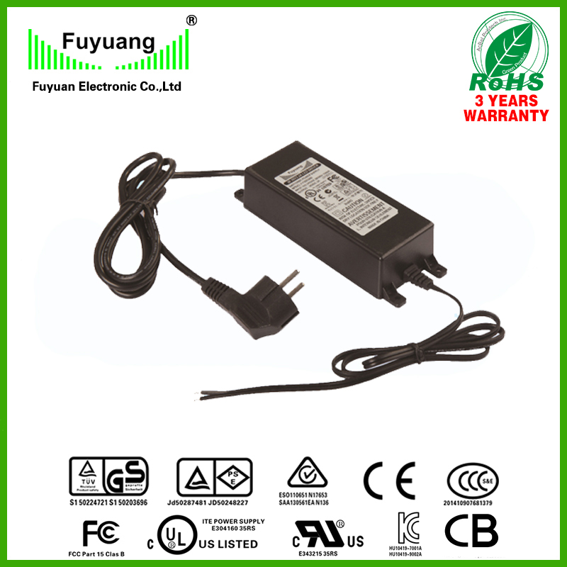 waterproof IP65 constant current 20v 5a led driver 100W