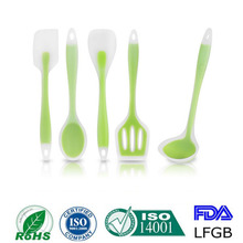 Factory supply FDA Approved Silicone Kitchen Utensil Set Kitchen Tools