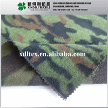10% Wool 90% Synthetic 347gsm 155cm wide camo yarn dyed fabric for jacket