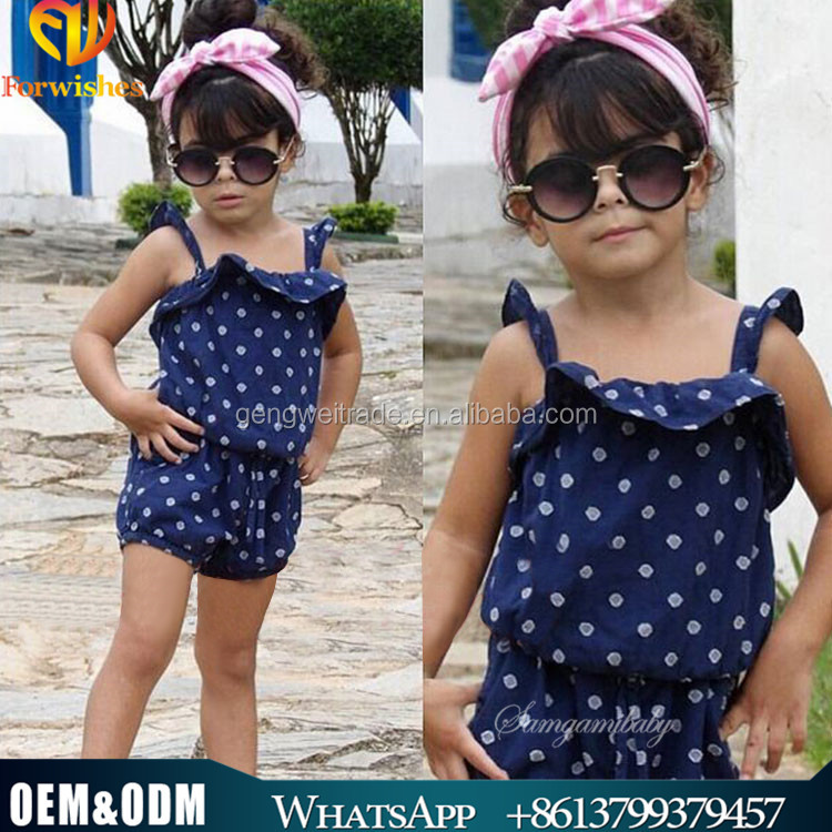 Latest Design European Style Children Clothes Cute Girl Clothing Set Baby Children Girl Apperal Summer Wearing