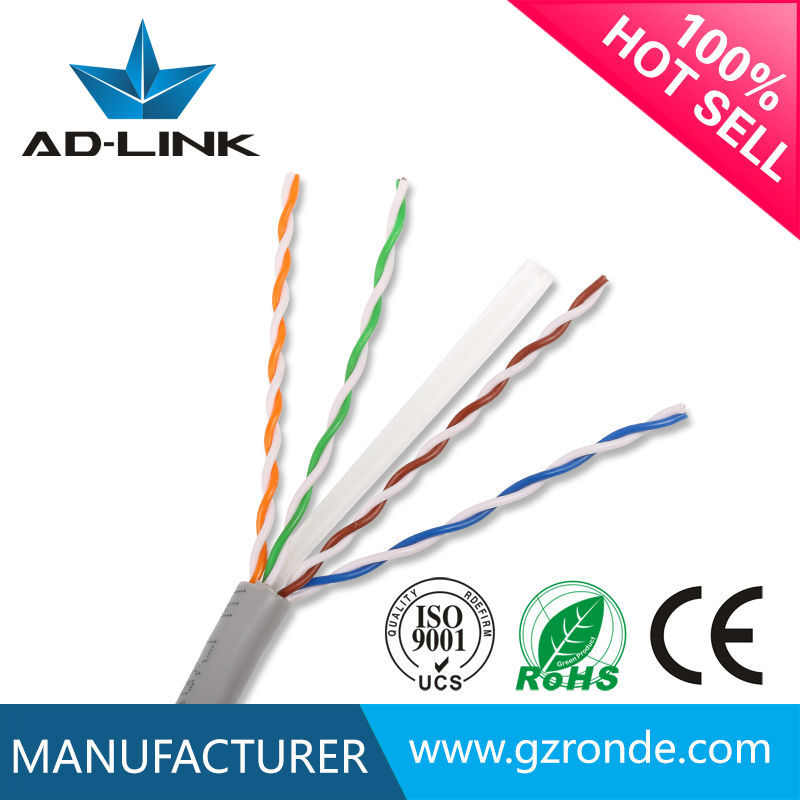Rg45 UTP Cat6 Ethernet Lan Cable From Cable Manufacturer at Guangzhou