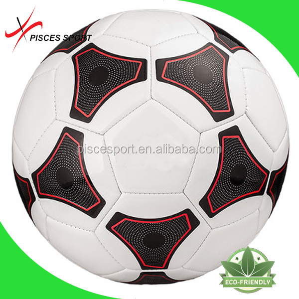 Pisces new style machine sewing vintage leather soccer ball