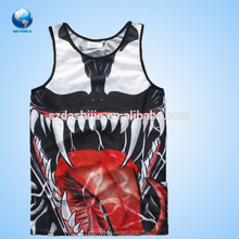 High Quality Light Mens Gym Bodybuilding Custom Tank Top