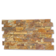 Cheap Natural Yellow limestone Exterior and Interior Cultured Wall Brick Stone Panel veneer CZ-N100