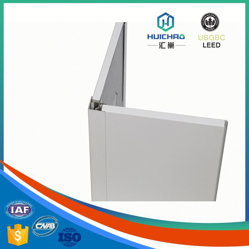 HC-Q Light weight easy installation durable cost effective aluminum honeycomb decorative panel sheet metal