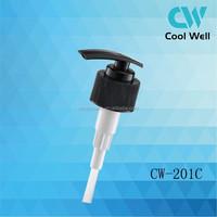 Liquid soap dispenser plastic pump cheap shampoo wholesale for shampoo bottle