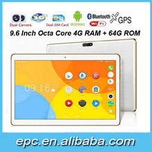 "9.6"" phablet 3G Android 5.1 octa core MT6580 quad core 3G tablet pc 10 inch tablet 4g phablet cheap tablet"