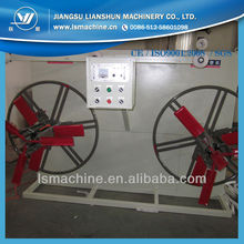 plastic pipe twin disk winder machine
