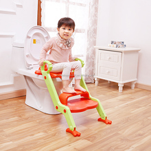 Baby New Design Frog Portable Folding Ladder Toilet Baby Potty Training Chair Plastic Toilet Stand Seat