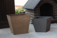 Hot sales New material garden planter growing pots decorative plastic flower pots on sale