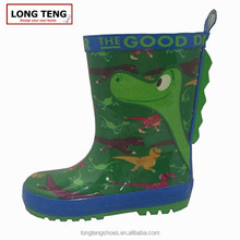 2016 LONGTENG Lovely And Beautiful Cheap Rubber Rain Boots For kids