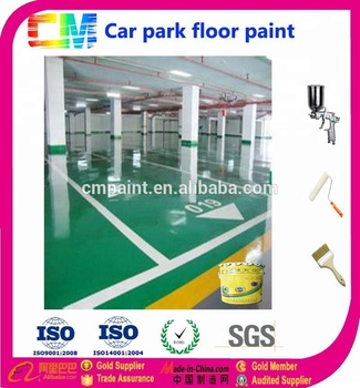 anti-compress car parking floor paint epoxy floor coating