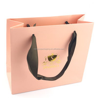 Custom High-end Luxury Shopping Paper Bag For Clothes