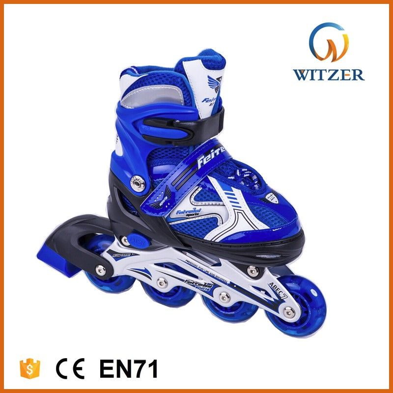 lace-up adjust shoes 70mm wheels roller skates wholesale trade