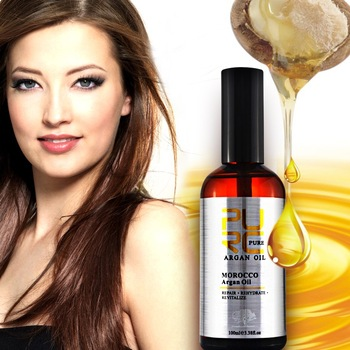Moroccan argan oil hair products give for coloured treated hair bright and smooth