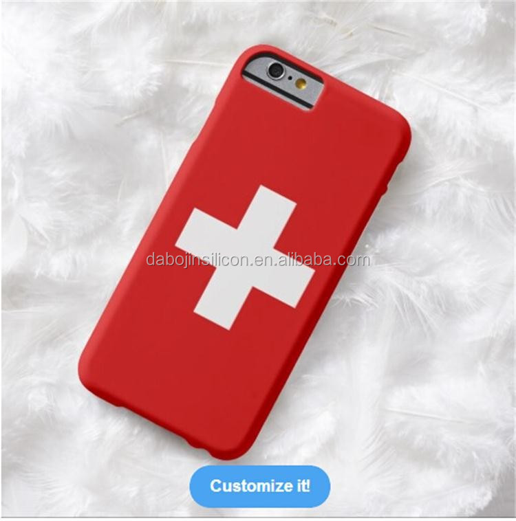 2015 new hot selling Switzerland flag case for <strong>mobile</strong> phone