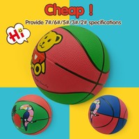 logo could be printed rubber official basketball sports toys