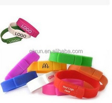 paypal accept silicone wristband cheap bracelet usb flash drive memory stick bulk cheap