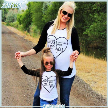 Hot cake family outfits clothes children kids woman t-shirt