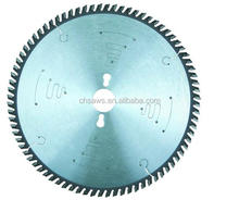 TCT Circular Saw Blade for tropical wood, particle board, MDF--lower noise