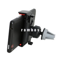 360 Rotating Stand Mobile Phone Car Air Vent Clip Support Phones Mount Holder Cradle Bracket for MP3 MP4 PDA Navigator
