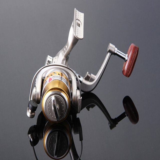 6BB Ball Bearings Left Right Hand Collapsible Handle Fishing Spinning Fishing Reel SG4000A 5.<strong>1</strong>:<strong>1</strong> For Outdoor Sports