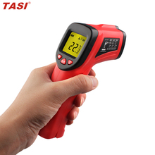 TA8201 Digital Infrared Thermometer Non-contact Gun type Digital Temperature Gauge Adjustable Emissivity Infared Thermometer