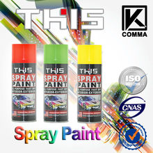 ISO&MSDS THIS/f1 High Heat Resistant Aerosol Spray Paint Can