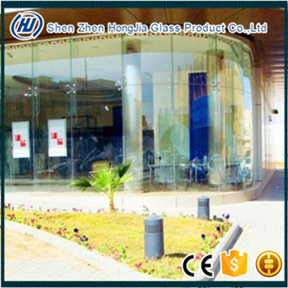 bullet resistant glass for bank bulletproof glass laminated glass