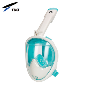 TUO Hot Selling 2018 Camera Tribord Diving Panoramic Set Easybreath 180 Degree Full Face Snorkel Mask