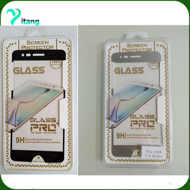 metropcs cell phone full cover 3d tempered glass 3d anti shock tempered glass screen protector for lg aristo