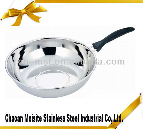 Stainless Steel high quality copper frying pans