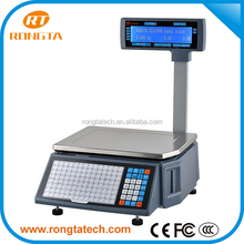 Barcode printing scale Rongta RLS1000, Weighting Label Scale Printer, China