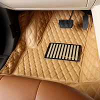 High quality full set carpet car mat leather custom 3d car floor mats for Nissan Fuga