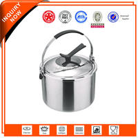 Detachable design vacuum wide mouth travel pot