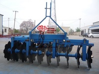 tractor mounted agricultural tractor implement disc harrow