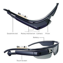 2017 New Smart Glasses with Bluetooth/Video/Music Player/Camera