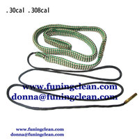 .30/.308/.303 cal & 7.62mm bore snake brush, gun clean brush,clean gun pipe tool