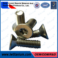ANSI/ASME B18.3 Titanium Hexagon Socket Countersunk Head Cap Screws