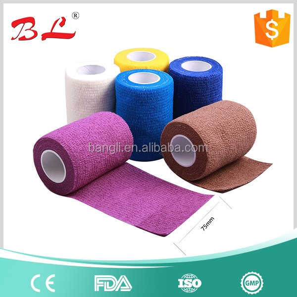 Elastic Non-woven Horse Cohesive Bandage Equestrian Products