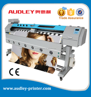 Audley 1971 DX7 vinyl sticker baner fuji photo printing machine with CE/1.8m/1.6m/3.2m