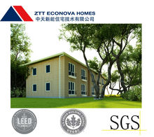 easy living prefabricated steel structure module homes